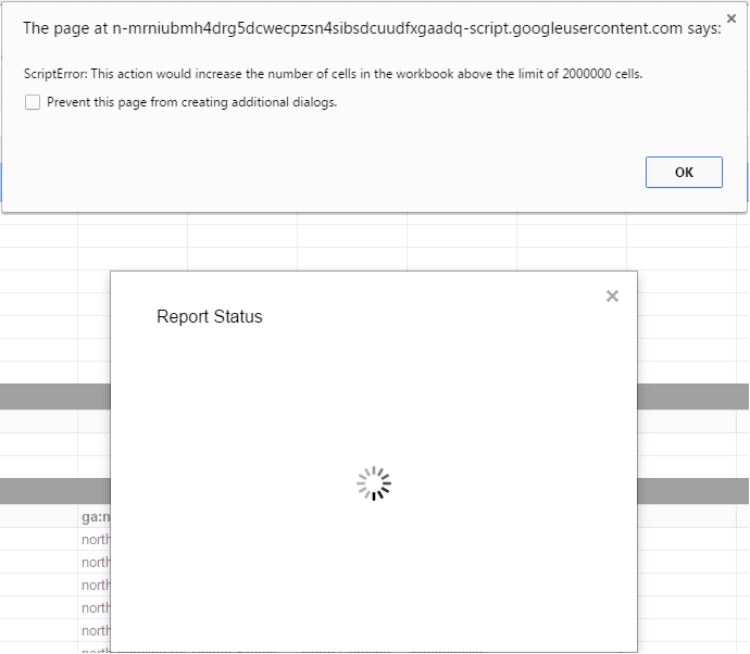 Pull More Than 10k Rows Unsampled Using Google Analytics Sheets Add